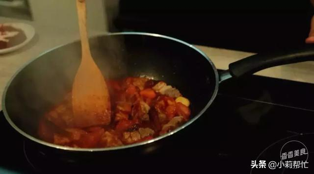 不用炖煮,几个私房小窍门教你搞定一锅番茄牛腩 金星,简单,容易,不用,几个 第10张图片