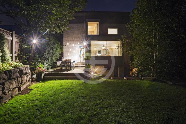 多伦多这栋别墅里,藏着峡谷山川|居外精选 多伦多,这栋,别墅,藏着,峡谷 第6张图片