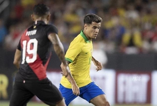 友谊赛:内马尔替补埃布拉姆破门制胜,巴西0-1秘鲁 友谊,友谊赛,内马尔,替补,布拉姆 第1张图片