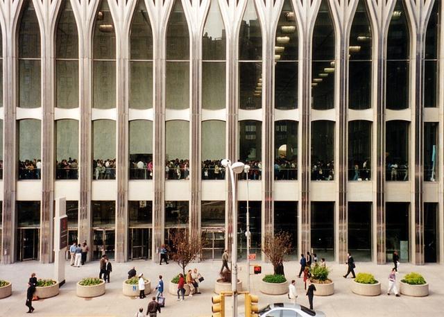 9·11事件18周年,重温经典建筑:纽约世贸中心双子大厦 周年,重温,经典,建筑,纽约 第10张图片