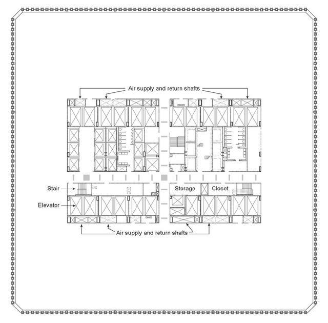 9·11事件18周年,重温经典建筑:纽约世贸中心双子大厦 周年,重温,经典,建筑,纽约 第19张图片