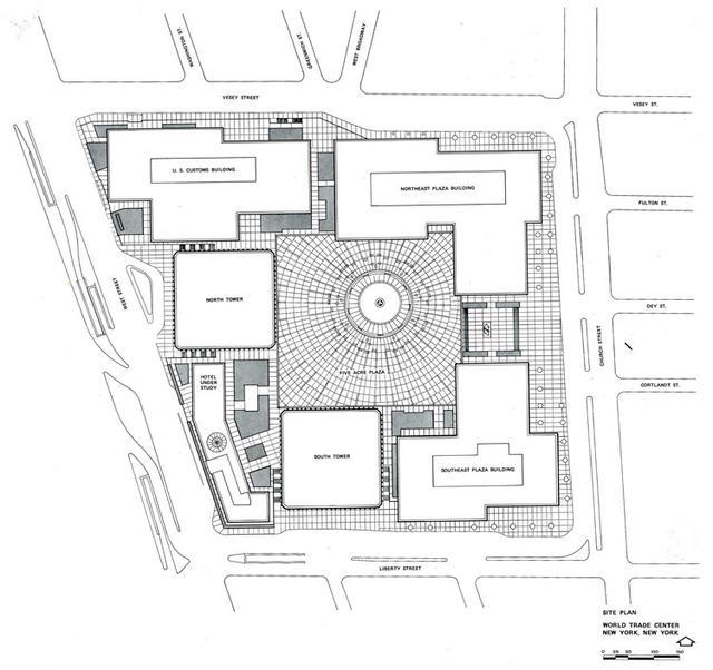 9·11事件18周年,重温经典建筑:纽约世贸中心双子大厦 周年,重温,经典,建筑,纽约 第20张图片