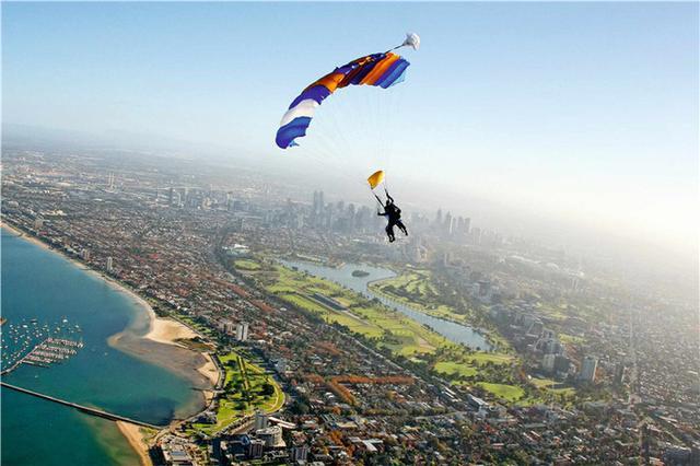 旅行攻略·墨尔本:企鹅,跳伞,热气球,墨尔本应有尽有 旅行,旅行攻略,攻略,墨尔本,企鹅 第8张图片