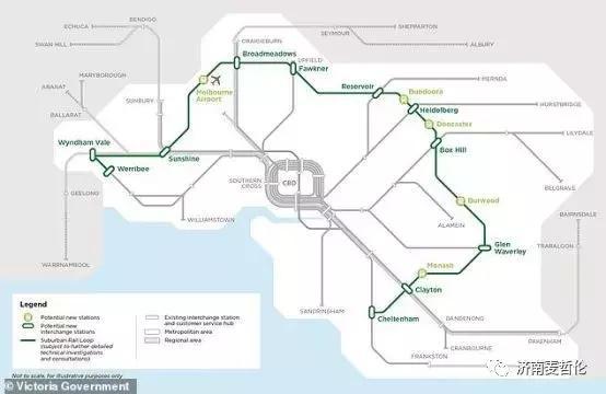 重磅!墨尔本$500亿郊区铁路环线项目确定了 墨尔本,郊区,铁路,铁路环线,环线 第8张图片