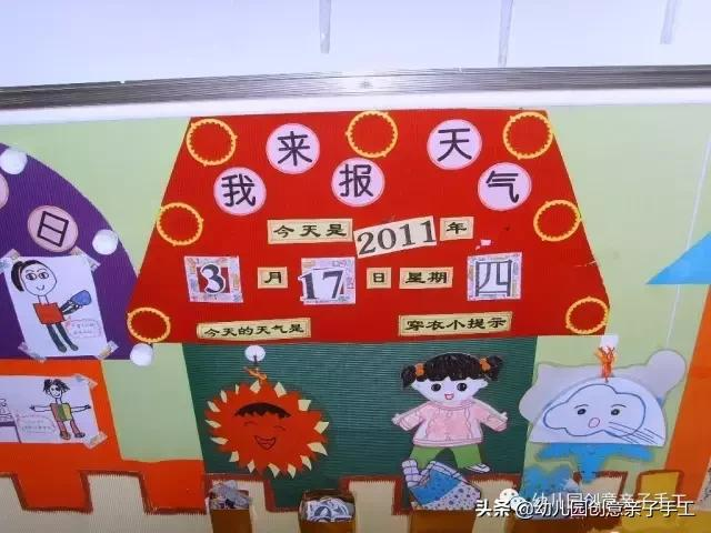环创│天气预报主题墙,让孩子知冷暖会表达 天气预报,欢迎关注,如果你,部分的,小知识 第8张图片