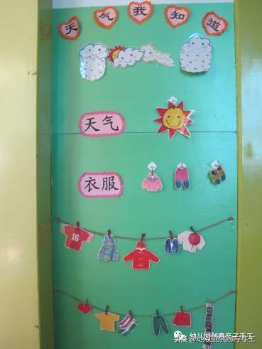 环创│天气预报主题墙,让孩子知冷暖会表达 天气预报,欢迎关注,如果你,部分的,小知识 第26张图片
