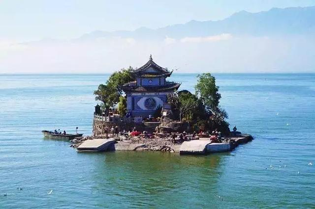 去过那么多次云南,唯独爱上了洱海 不知不觉,苍山洱海,彩云之南,第一站,蓝色的 第8张图片