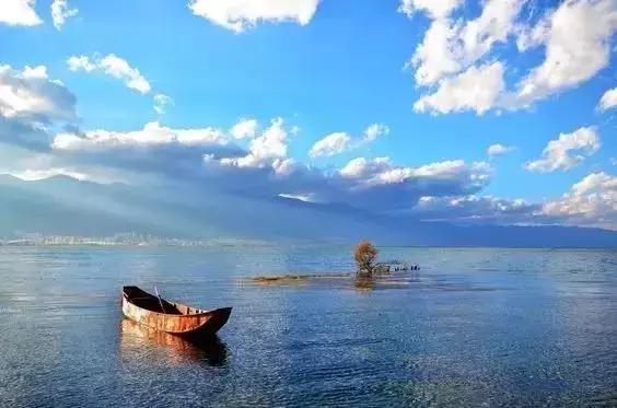 去过那么多次云南,唯独爱上了洱海 不知不觉,苍山洱海,彩云之南,第一站,蓝色的 第13张图片