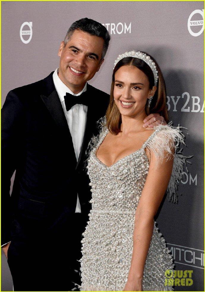 Jessica Alba和丈夫Cash Warren 加州 2019 Baby2Baby Gala活动 活动,加州,丈夫 第3张图片