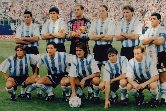 充满遗憾的青春回忆:1994世界杯阿根廷队 巴蒂斯图塔,天妒英才,人员配置,卡尼吉亚,阿根廷队 第1张图片