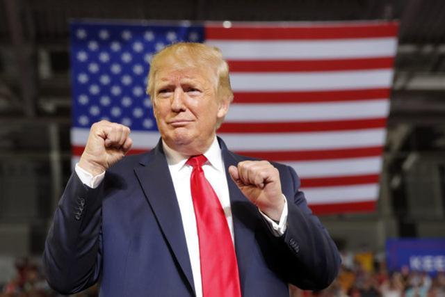 """美媒:川普击败奥巴马,成为美百姓调中""""最受尊重的人"""" 第1张图片"""