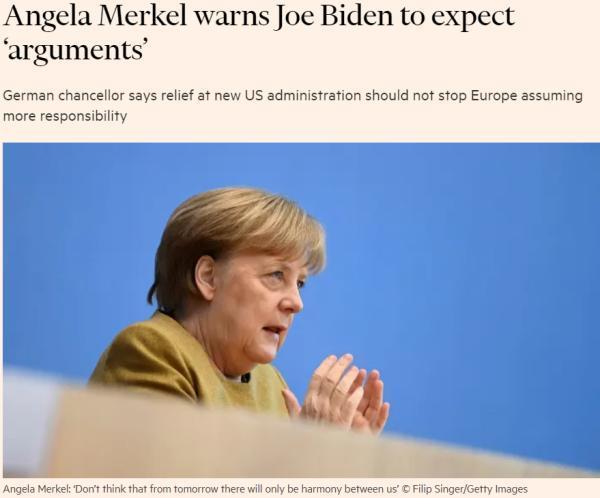 环球深观察丨美国换了新总统,欧洲就能松口气?