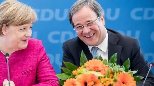"""谁能代默克尔掌管德国?悬念将揭晓,亲华亲俄的他""""抢先一步"""""""