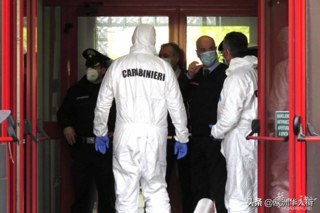 意大利一名市政交警在局里开枪自杀身亡