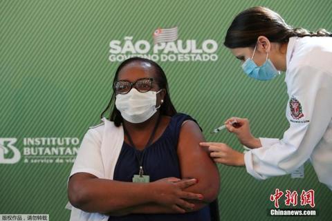 巴西确诊病例超1397万 又一中国疫苗获准在巴试验