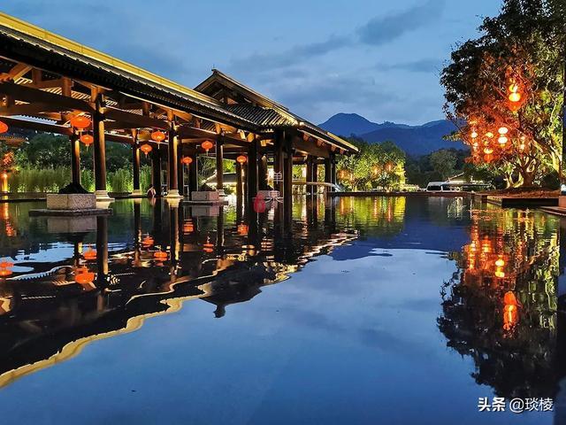 这家现代化酒店,1000平米的大堂,竟是榫卯结构,不用一根钉子 第3张图片
