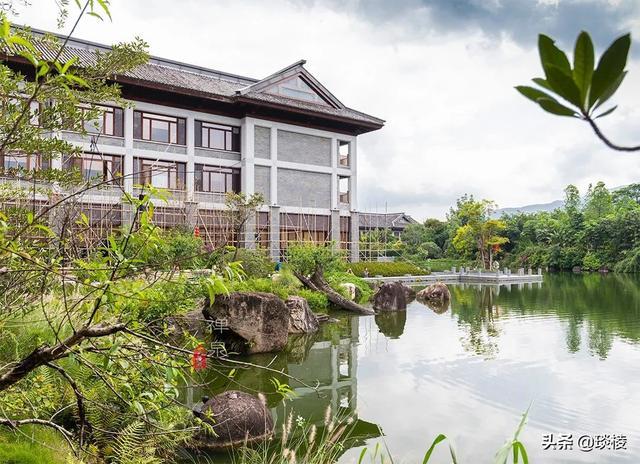 这家现代化酒店,1000平米的大堂,竟是榫卯结构,不用一根钉子 第8张图片