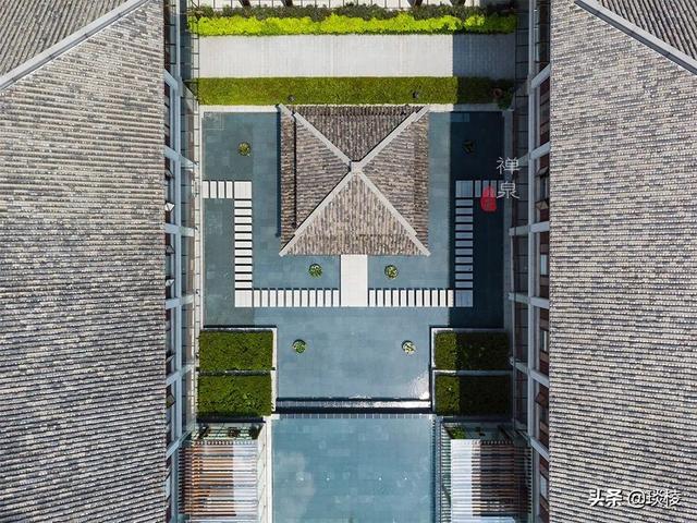 这家现代化酒店,1000平米的大堂,竟是榫卯结构,不用一根钉子 第12张图片