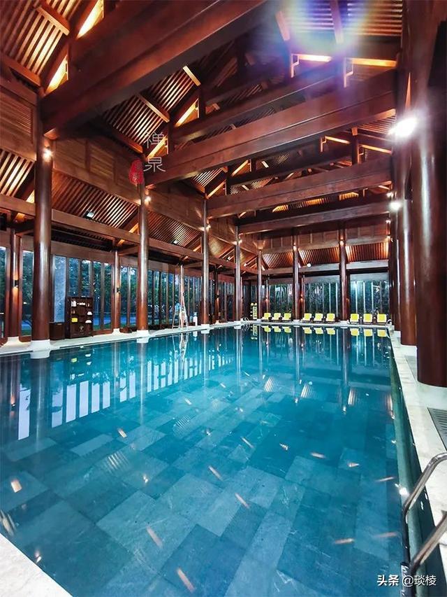 这家现代化酒店,1000平米的大堂,竟是榫卯结构,不用一根钉子 第27张图片