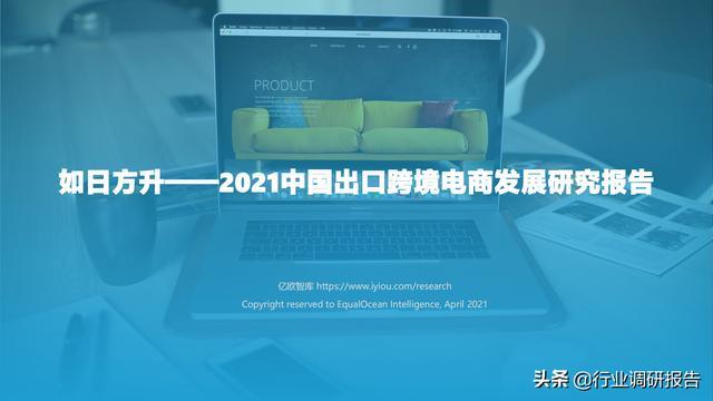 2021中国出口跨境电商成长研讨报告 第1张图片