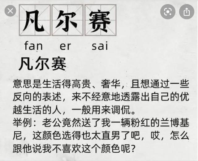 外洋版华人凡尔赛 第1张图片