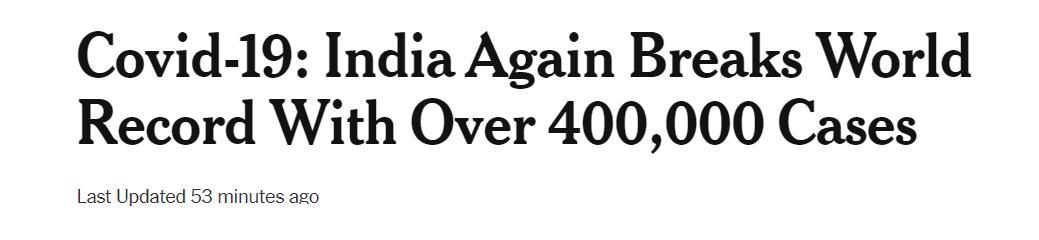 日增40万!大街飘焚尸味,医院火灾烧活人,印度疫情恐拖垮天下 第1张图片