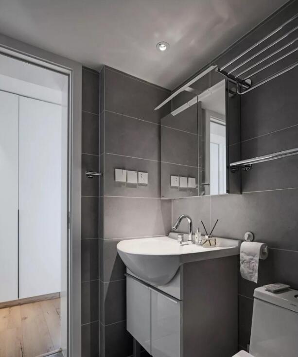 6个超适用的装修技能,洗手间收纳空间大一倍,后悔没早晓得 第2张图片