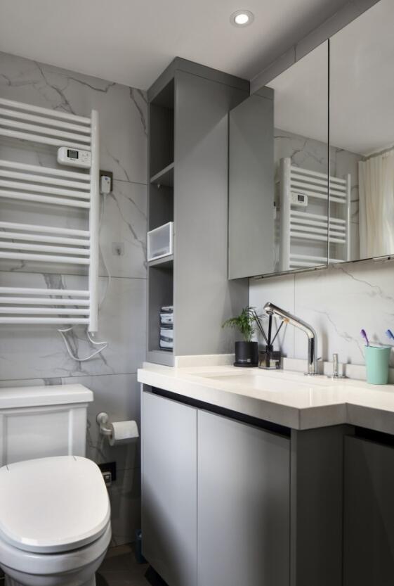 6个超适用的装修技能,洗手间收纳空间大一倍,后悔没早晓得 第4张图片