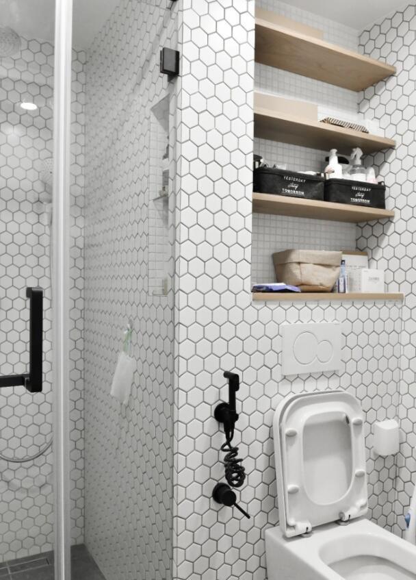 6个超适用的装修技能,洗手间收纳空间大一倍,后悔没早晓得 第5张图片