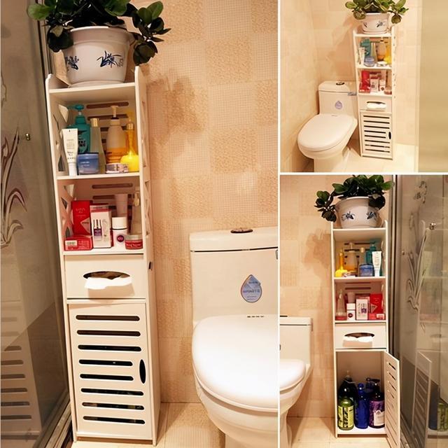 6个超适用的装修技能,洗手间收纳空间大一倍,后悔没早晓得 第7张图片