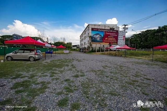 """疫情下的创新,关餐厅不关厨房,泰国""""汽车餐厅""""获赞被刷屏 第5张图片"""