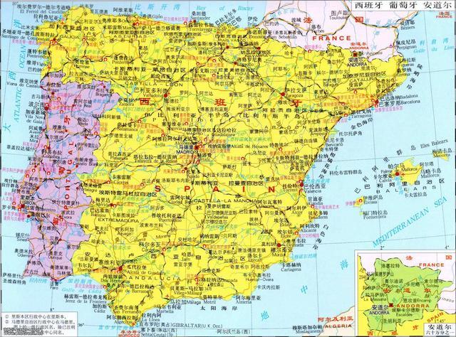 你不晓得的天下冷常识(3)关于西班牙 第1张图片