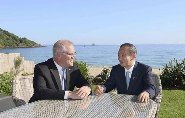 """反对""""经济胁迫""""!美国的两个马前卒合流了,日澳共同对中国出手"""