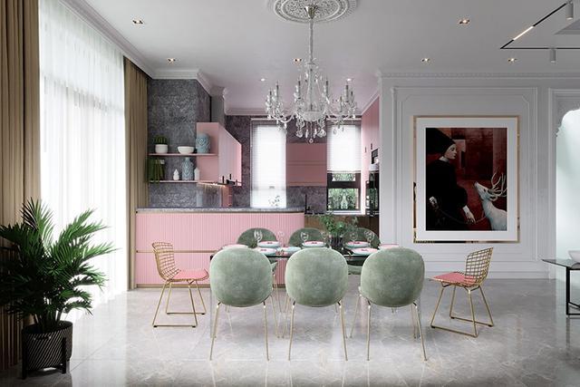 出色!明亮色彩家庭装修案例,欢畅、活跃、朝气勃勃,人见人爱 第5张图片
