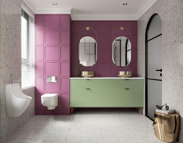 出色!明亮色彩家庭装修案例,欢畅、活跃、朝气勃勃,人见人爱 第8张图片