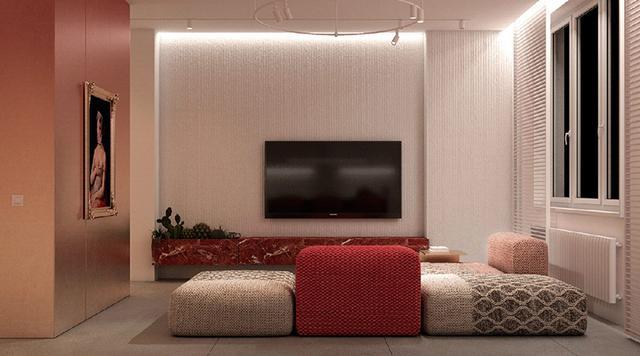 出色!明亮色彩家庭装修案例,欢畅、活跃、朝气勃勃,人见人爱 第10张图片