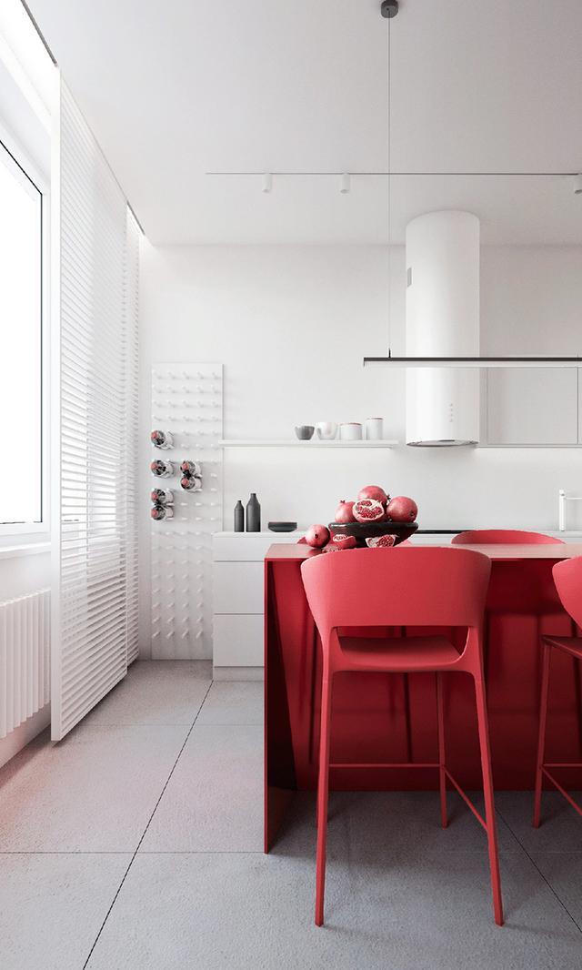 出色!明亮色彩家庭装修案例,欢畅、活跃、朝气勃勃,人见人爱 第12张图片
