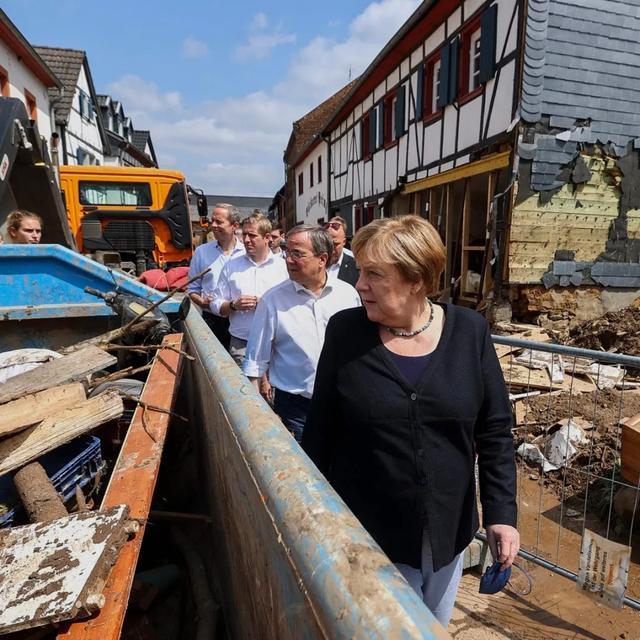 德国大水是天灾?警报呢?为何不起感化?德国次序神话幻灭 第1张图片