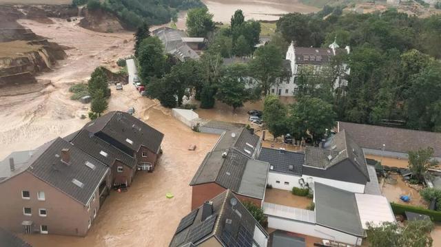 德国大水是天灾?警报呢?为何不起感化?德国次序神话幻灭 第2张图片