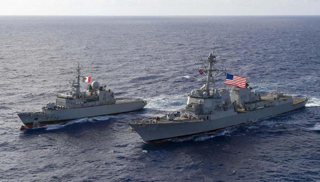 不宁愿在南海缺席,法国也学美国拉起一支队伍,锋芒明白指向中国 第2张图片