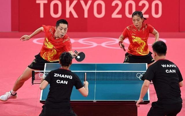 奇观!乒乓球混双场上6个中国人,连加拿大教练都是,3人换国籍