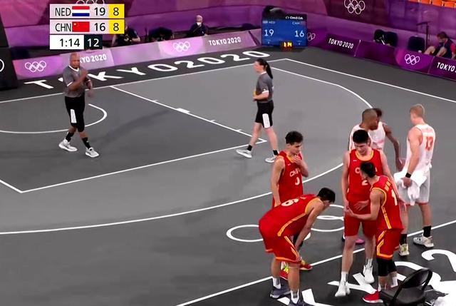 奥运三人男篮-胡金秋狂砍17分难救主 中国惜败荷兰遭遇四连败