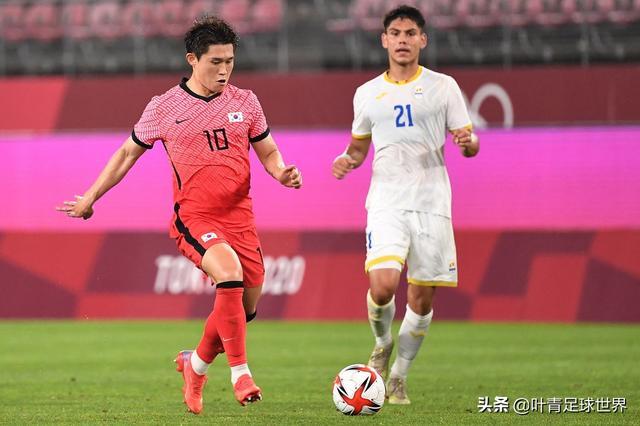 4-0,韩国登顶!奥运男足死亡之组:4队同积3分,形成食物链