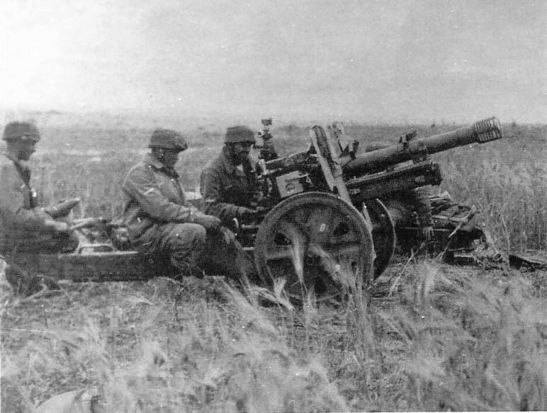 伞降火炮——德国LG 40无后坐力炮