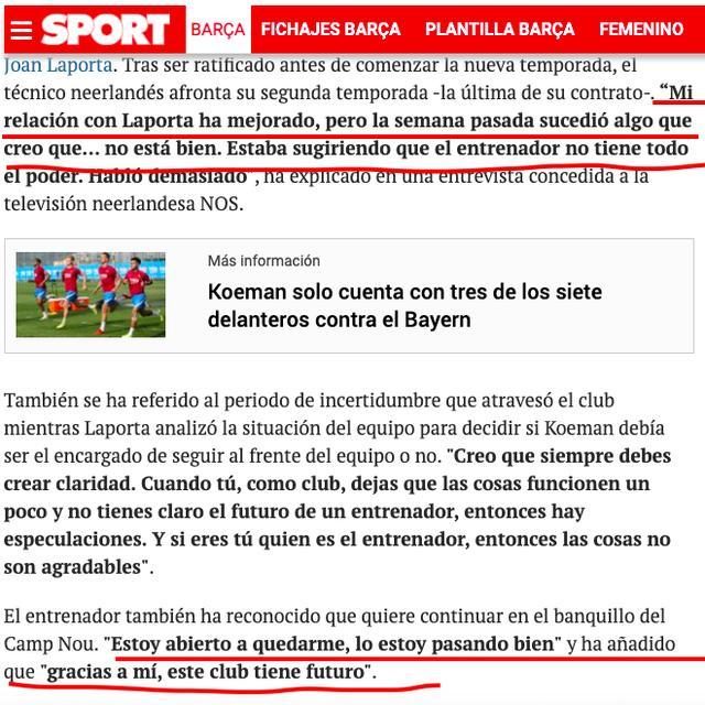 梅西刚走!巴萨严重内讧曝光 一方自意向媒体公然 两人都遭球迷炮轰 第5张图片