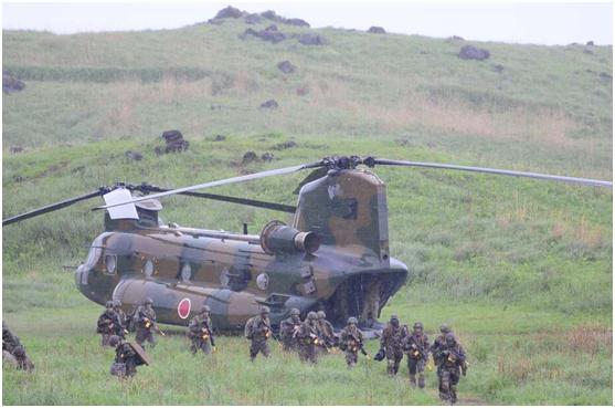 日本,这是预备和中国大打一仗? 第5张图片