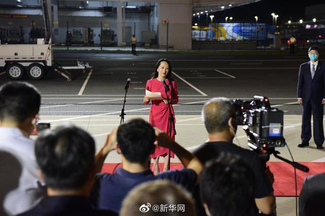 孟晚舟归来的启示:台湾回归祖国怀抱的日子不远了