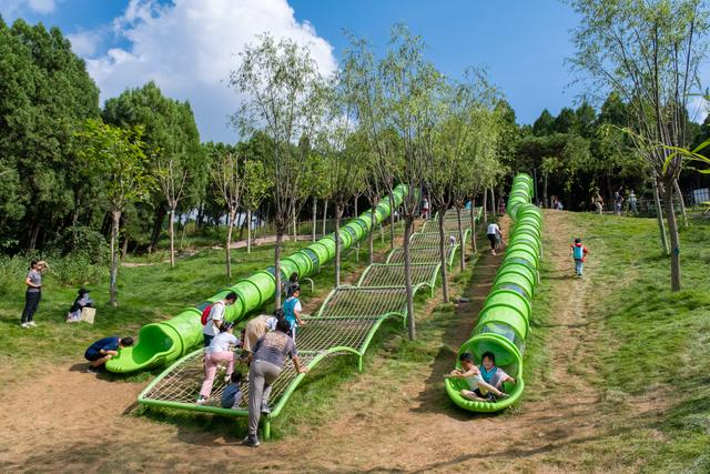 """济南这处奥秘森林里的亲子主题乐园,特点民宿、萌宠乐园、美味小吃,""""十一""""遛娃走起! 第13张图片"""