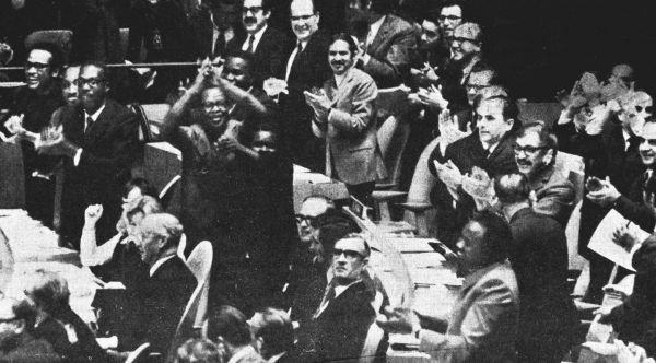 50年前,外媒这样评述新中国恢复联合国合法席位 锡兰《每日新闻》:联合国代表性不再是空谈